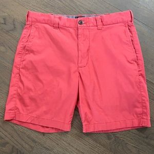 """J. Crew 7"""" Flat Front Stretch Chino Shorts Old Red"""